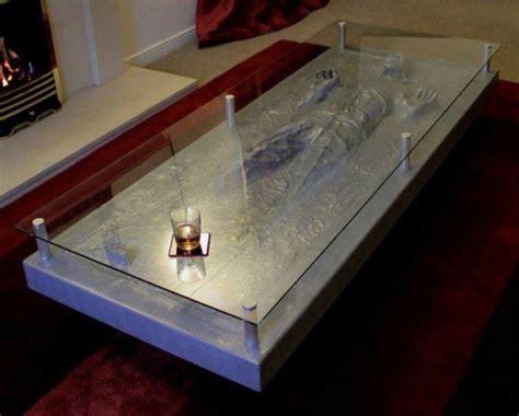 star wars table l han solo in carbonite coffee table gadgetsin