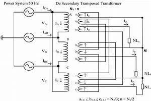 Configuration Of Dtz Windings Transformer
