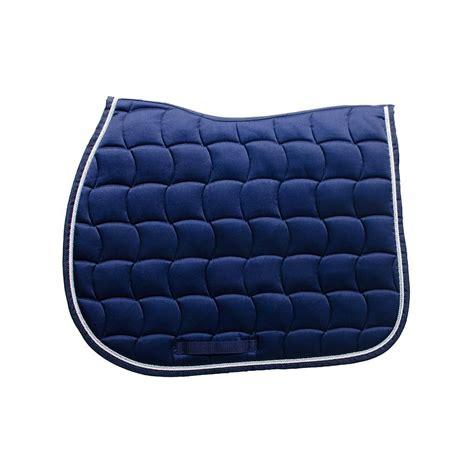 tapis bleu roi cheval