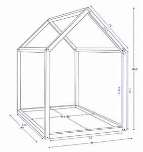 Construire Un Lit Cabane : comment construire un lit maison seul maman louve chambre enfant pinterest maman louve ~ Melissatoandfro.com Idées de Décoration