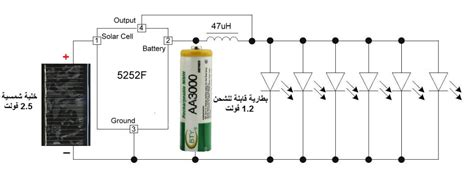 qx5252f qx5252 5252f solar ic driver electronics ie