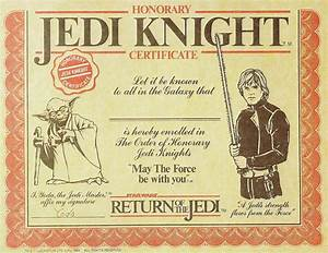 free printable star wars jedi certificates search With star wars jedi certificate template free