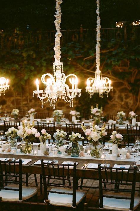chandelier wedding ideas  pinterest