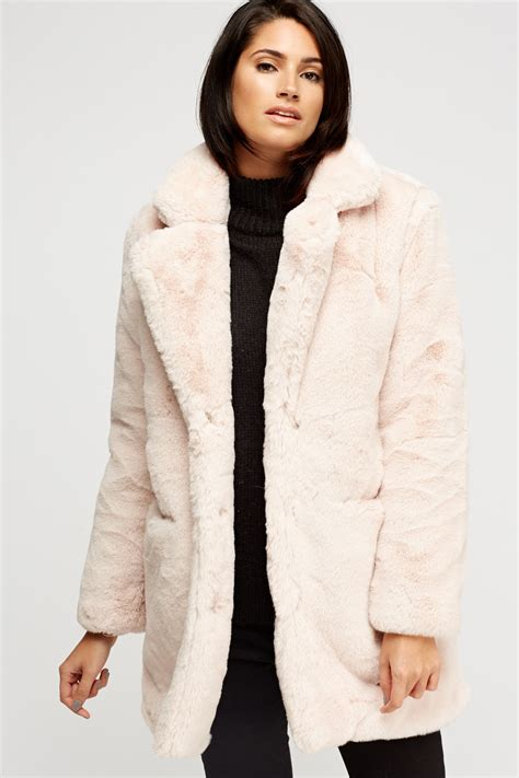 light blue faux fur coat light pink faux fur coat tradingbasis