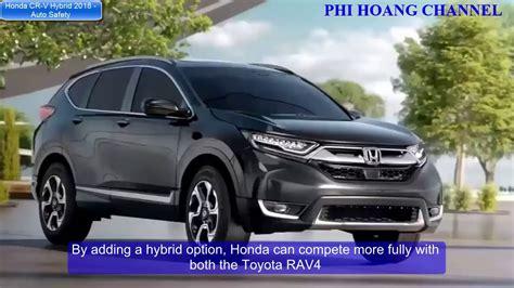 Honda Cr V Hybrid 2018 Prototype Goes Green