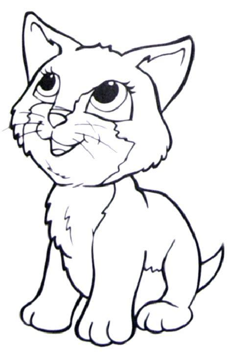 cat coloring pages coloringsuitecom