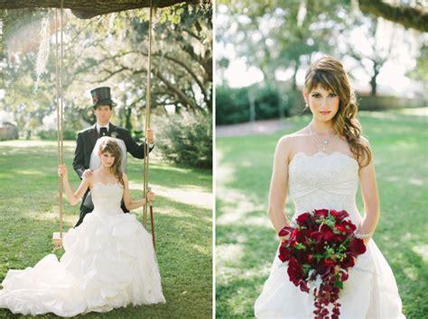 bustle on wedding dress steunk inspired wedding niki leo green