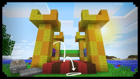 minecraft     working bouncy castle youtube