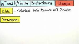 Ggt Und Kgv Berechnen : ggt und kgv in der bruchrechnung bungen mathematik sofatutor ~ Themetempest.com Abrechnung