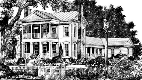southern plantation house plans kassidy manor luxury home plan 055d 0540 house plans and