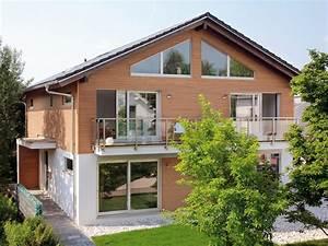 Fassadengestaltung Holz Und Putz : hausfassade gestalten putz holz stein schwoererhaus ~ Michelbontemps.com Haus und Dekorationen