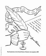 Constitution Coloring Pages Symbols Patriotic American Colonial History Flag Republic Printable America Government Dominican States United Sheets Signing Activities Social sketch template