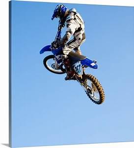 Rider jumping d... Rider Canvas