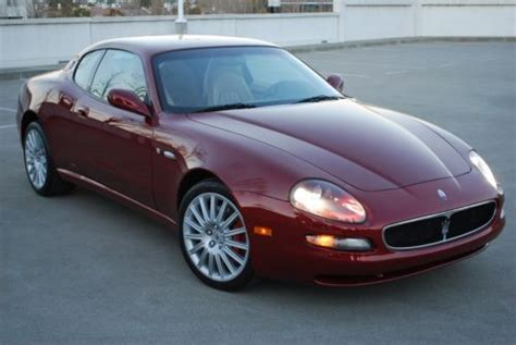 Buy Used 2002 Maserati Coupe Gt, 6 Speed, 32k, Super Clean