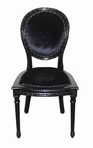 Chaise Baroque Noir : chaise baroque pas cher hoze home ~ Teatrodelosmanantiales.com Idées de Décoration