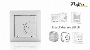 Busch Jäger Balance : raumthermostate f r busch j ger balance si in alpinwei pefra regeltechnik ~ Frokenaadalensverden.com Haus und Dekorationen