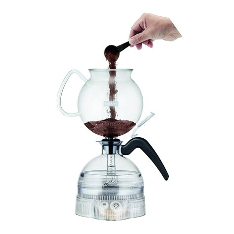 Japanese modern slow drip siphon coffee maker glass cold pot infusion vacuum. Bodum ePEBO Coffee Maker, Electric Vacuum Coffee Maker Coffee and TEA, Coffee Tools, Coffee ...