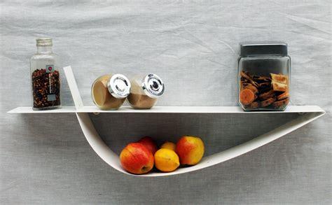 cuisine etagere murale etagère murale blanche étagère design métal tablette