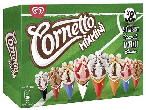 Langnese: Cornetto Mix Mini Euro Sonderedition