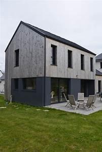 Maison En Bois Construction : construction de maisons en bois morbihan serru habitat bois ~ Melissatoandfro.com Idées de Décoration
