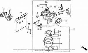 Honda Engines Gxv340 Dn Engine  Jpn  Vin  Gj02