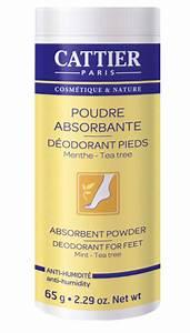Pied De Menthe : cattier poudre absorbante d odorants pieds menthe poudreuse 65 gr boutique bio ~ Melissatoandfro.com Idées de Décoration