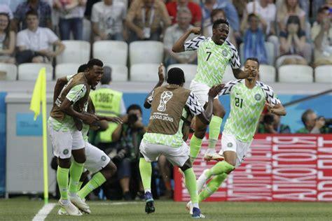 Fifa World Cup Nigeria Iceland Musa Brace