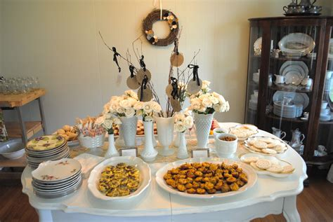 Best Food For Bridal Shower by Midsouth Stagers Vintage Bridal Shower With A Southern Touch