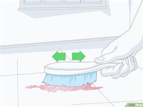 schoonmaken vloerbedekking vinyl vloerbedekking schoonmaken wikihow
