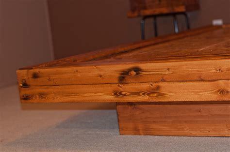 diy full size platform beds wooden  plans king bed
