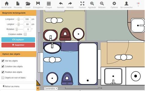dessiner un plan de cuisine plan de salle de bain archifacile