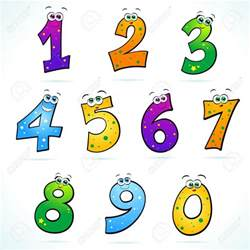 Funny Numbers Clip Art Free