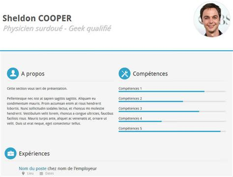 Free Resume Templates Html Css by 15 Free Html Css R 233 Sum 233 Templates