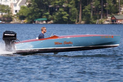 Runabout Rascal Boat by Custom Rascal Runabout Boat For Sale From Usa