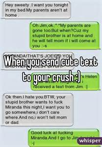 Cute Text Messages to Send Your Crush