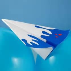 Make Paper Airplane Glider