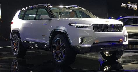 Jeep Yuntu Concept Is China's Wagoneer Of Sorts
