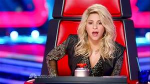 Shakira in The Voice Season 4 Episode 6 - Zimbio