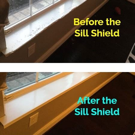 Window Sill Guards by Sill Shield Window Sill Protector In Clear Or White