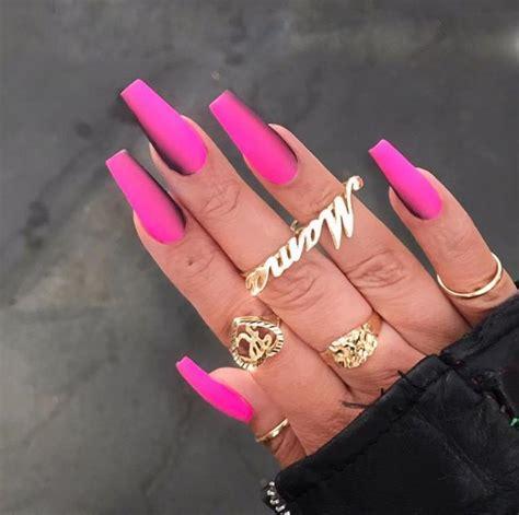 epic nail art ideas   coffin shaped nails