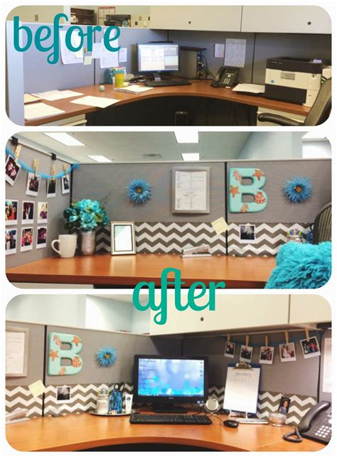 beetique  office cubicle makeover