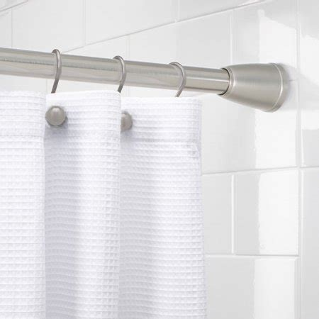 Better Homes And Gardens Curtain Rods by Better Homes And Gardens Metal Shower Curtain Rod