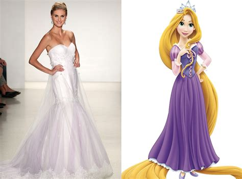 Rapunzel from Alfred Angelo?s Disney Princess Wedding Gowns   E! News