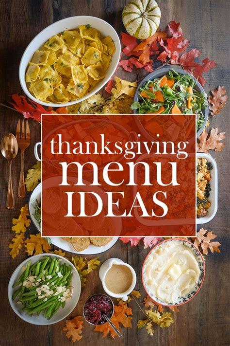 thanksgiving day menu ideas thanksgiving menu ideas