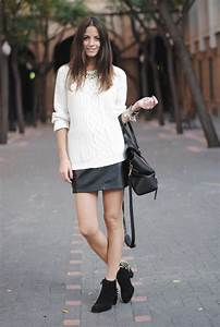 How To Style Black mini LEATHER SKIRTS? u2013 The Fashion Tag Blog