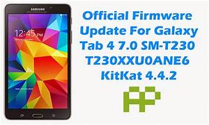 Official Firmware  Samsung Galaxy Tab 4 7 0 Sm