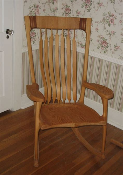 hal taylor rocking chair plans finewoodworking
