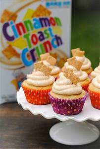 Cinnamon Toast Crunch Cupcakes - Foxes Love Lemons