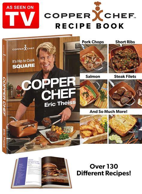copper chef cook book carolwrightgiftscom