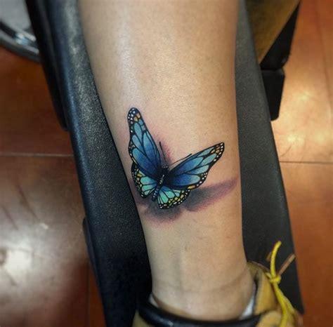 blue butterfly tattoo ideas  pinterest